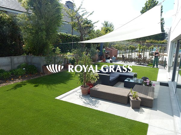 Project: Tuin te Roeselare met Royal Grass® Velvet