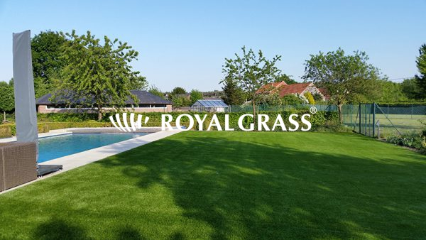 Project: Kunstgras tuin te Werchter met Royal Grass® XL